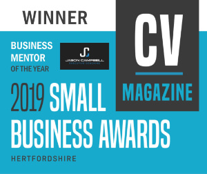 business mentor of the year award CV magazine